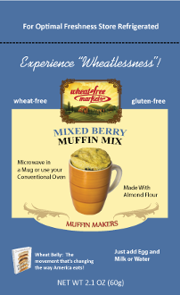 "Mixed Berry ""Muffin Maker"" - 3-pack"