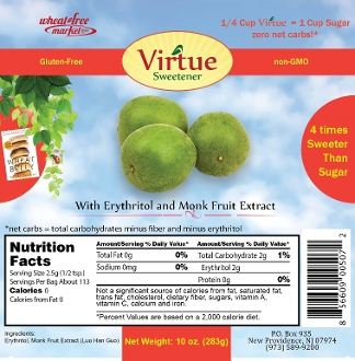 Virtue Sweetener - 10 oz